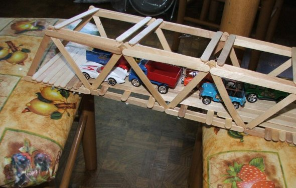Balsa and Basswood Bridge Building Kits | Physics science