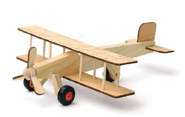 Build your own airplane kit by crafts4kids | notonthehighstreet.com