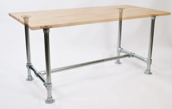 Build your own DIY Table or Desk Frame to suit any table top. - An