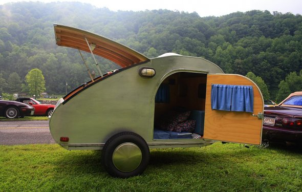 Build Your Own RV With Kits & Plans For Teardrop Trailers | The