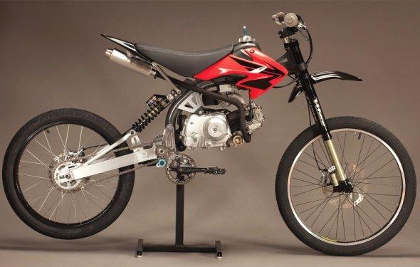 DIY Moped Kit Motoped | Cool Material