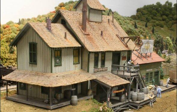 Ho model railroad building kits | Mualsambel
