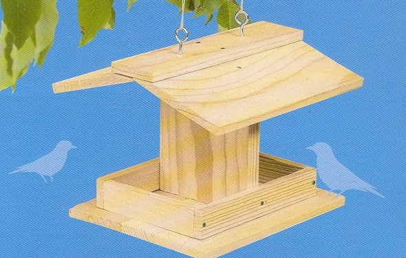 Hobby Hobnob: Build A Bird Feeder Kit