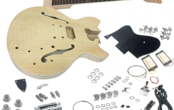 SOLO Music Gear - Do It Yourself (DIY) Electric Guitar Kits, Build