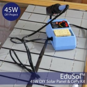 45W DIY Solar Panel & Cells Kit