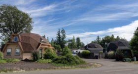 8 Companies That Are Revolutionizing Kit Homes - Photo 3 of 9 - Geodesic domes were first popularized by R. Buckminster Fuller in the mid-twentieth century, but the extremely strong and stable structures have since been developed into sustainable, wind-resistant models. Oregon Dome produces wind and hurricane resistant geodesic dome kits in thousands of plans, sizes, and shapes. Each can easily be built by the customers themselves, no special equipment necessary.
