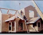 Structural insulated panels (SIPS) can be custom designed to build any style of home.
