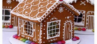 build gingerbread house kit