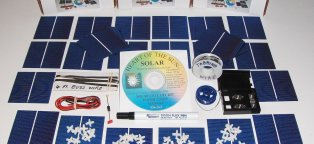Build your own solar panel kits
