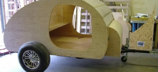 build your own teardrop trailer kit