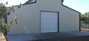 metal storage building kits